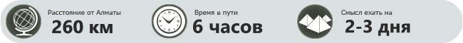 Прокат авто Алматы в Ущелье Кенсу